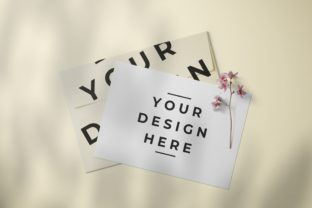 Paper Envelope Card Packaging Mockup Graphic Product Mockups By nopxcreative