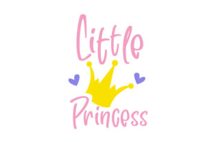 Little Princess Baby Craft Cut File By Creative Fabrica Crafts