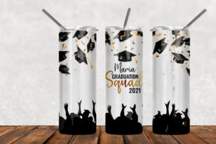 2021 Graduation Squad, Tumbler Graphic Patterns By Army Custom
