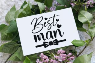 Best Man Svg | Wedding | Bridal Party Graphic Illustrations By VectorEnvy