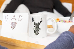Dad Sublimation| Best Buckin Dad PNG | Graphic Illustrations By Brushed Rose 2