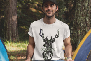 Dad Sublimation| Best Buckin Dad PNG | Graphic Illustrations By Brushed Rose 3