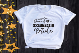 Grandfather of the Bride Svg | Wedding Graphic Illustrations By VectorEnvy