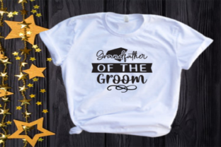 Grandfather of the Groom Svg | Wedding Graphic Illustrations By VectorEnvy