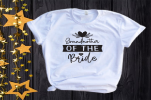 Grandmother of the Bride Svg | Wedding Graphic Illustrations By VectorEnvy