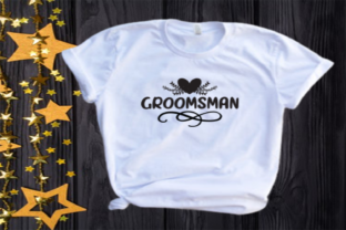 Groomsman Svg | Wedding | Bridal Party Graphic Illustrations By VectorEnvy