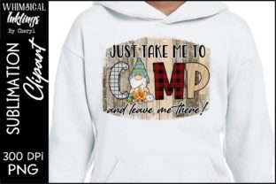 Just Take Me to Camp Graphic Illustrations By Whimsical Inklings