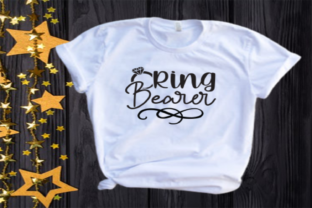 Ring Bearer Svg | Wedding | Bridal Party Graphic Illustrations By VectorEnvy
