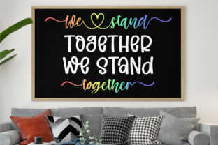 Print on Demand: Together with Pride Script & Handwritten Font By BitongType 3