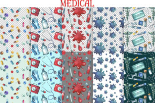 Watercolor Medical Clipart Graphic Illustrations By rembrantd.ulya 4