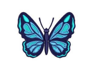 3D Layered Butterfly Bugs & Insects Embroidery Design By Embroidery Designs