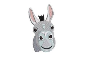Donkey Farm Animals Embroidery Design By Embroidery Designs