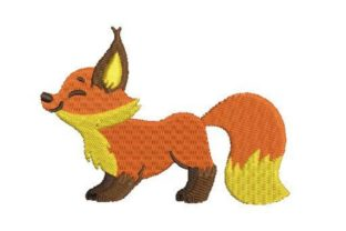 Fox Woodland Animals Embroidery Design By Embroidery Designs