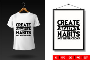 Gym T-Shirt Design Template 108 Graphic Print Templates By TriDraw