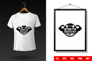 Gym T-Shirt Design Template 112 Graphic Print Templates By TriDraw