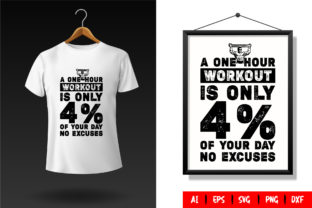 Gym T-Shirt Design Template 115 Graphic Print Templates By TriDraw