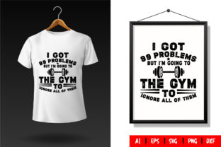 Gym T-Shirt Design Template 69 Graphic Print Templates By TriDraw