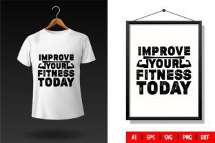 Gym T-Shirt Design Template 70 Graphic Print Templates By TriDraw
