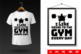 Gym T-Shirt Design Template 74 Graphic Print Templates By TriDraw
