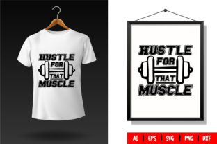 Gym T-Shirt Design Template 76 Graphic Print Templates By TriDraw