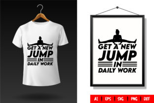 Gym T-Shirt Design Template 85 Graphic Print Templates By TriDraw