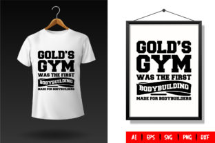 Gym T-Shirt Design Template 90 Graphic Print Templates By TriDraw