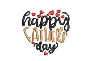 Happy Father's Day Father's Day Embroidery Design By NinoEmbroidery