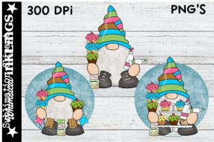 Little Cupcake Gnomes Graphic Illustrations By Whimsical Inklings