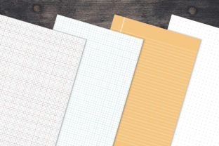 Print on Demand: Printable Notebook Paper 35 Pages Graphic KDP Interiors By AmitDebnath 2
