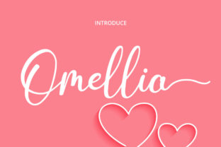 Print on Demand: Omellia Serif Font By Fallengraphic 1
