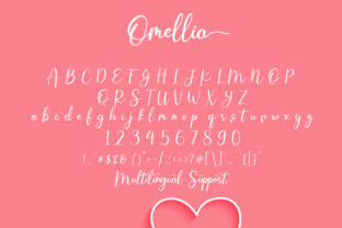 Print on Demand: Omellia Serif Font By Fallengraphic 2