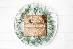 Personalized S'Mores Station Graphic Crafts By Simply Cut Co