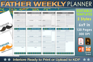 Father Weekly Planner - 1