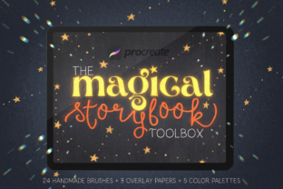 Magical Storybook Toolbox for Procreate Graphic Brushes By Lysified