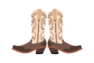 Cowgirl Boots Cowgirl Craft Cut File By Creative Fabrica Crafts