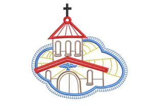 Christian Design: Church Baptism Embroidery Design By BabyNucci Embroidery Designs