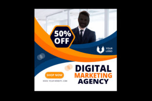 Digital Marketing Agency Business Banner Graphic Web Templates By 0zahidhossain01