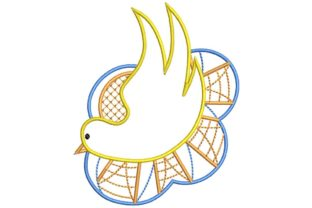 Dove Baptism Embroidery Design By BabyNucci Embroidery Designs
