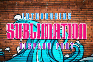 Print on Demand: Sublimation Display Font By Mr.Soon Design