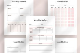 Print on Demand: Ultimate Printable Planner Bundle Graphic KDP Interiors By AmitDebnath 5