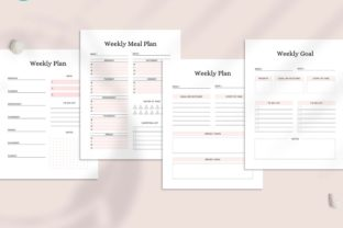 Print on Demand: Ultimate Printable Planner Bundle Graphic KDP Interiors By AmitDebnath 7