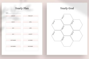 Print on Demand: Ultimate Printable Planner Bundle Graphic KDP Interiors By AmitDebnath 9