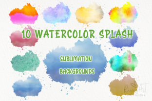 Watercolor PNG Sublimation Background S Graphic Backgrounds By CosyArtStore by RivusDea