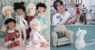 Luci Ayyat is Creating Quirky and Adorable Dolls