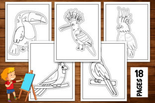 Print on Demand: Bird Scissor Skills Coloring Book Graphic Coloring Pages & Books Kids By Trend Color