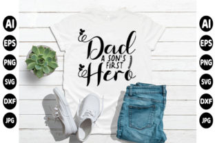 Print on Demand: Father Day T-shirt Design Graphic Print Templates By creative_design915