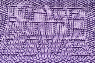 Print on Demand: Made with Love Knit Dishcloth Pattern Graphic Knitting Patterns By Heather Wiegel