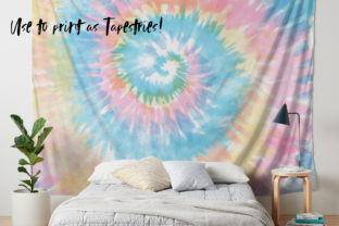 Pastel Tie-Dye Backgrounds Graphic Patterns By TheGypsyGoddess 13