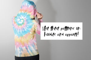 Pastel Tie-Dye Backgrounds Graphic Patterns By TheGypsyGoddess 3