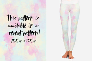 Pastel Tie-Dye Backgrounds Graphic Patterns By TheGypsyGoddess 6